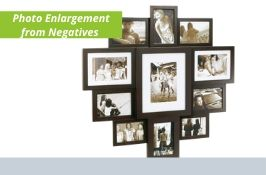 Photo enlargements from Negatives